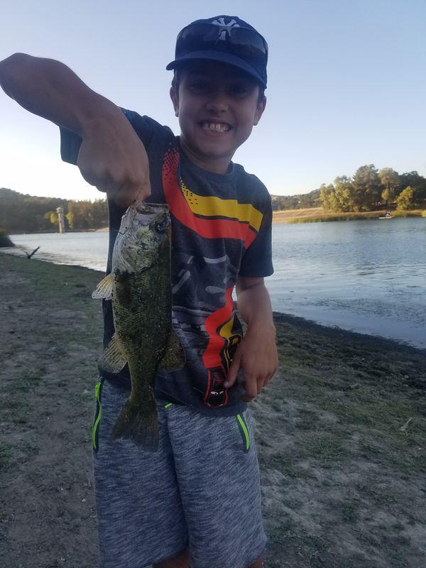 A photo of Sean Arbic's catch