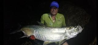 A photo of Mauricio Renteria's catch