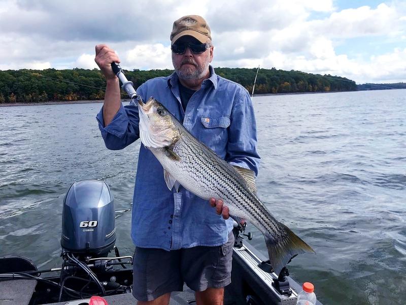 A photo of Jerry Dulney's catch
