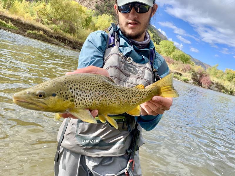 A photo of Noah Shapiro's catch
