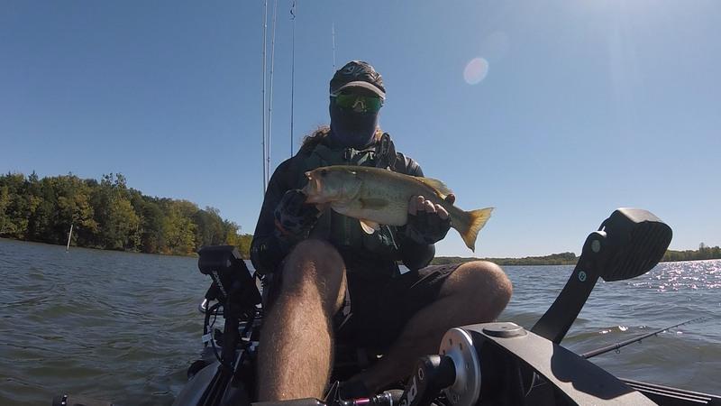 A photo of Joshua Sendish's catch