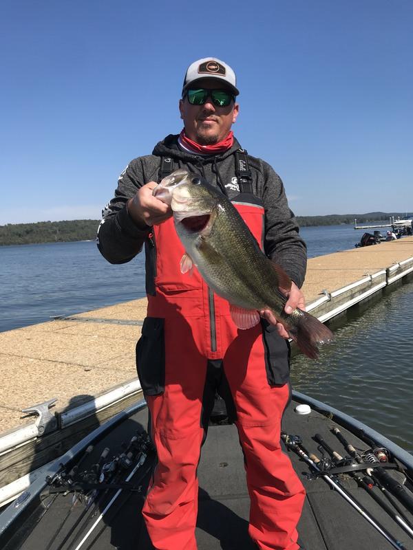 A photo of Dustin Walker's catch
