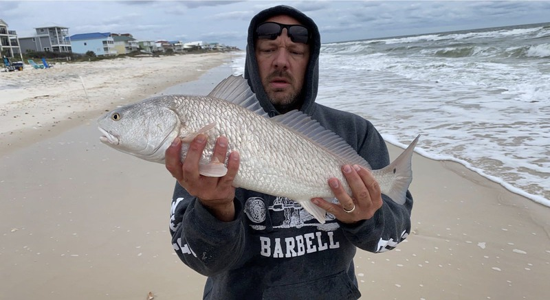 A photo of kevin green's catch