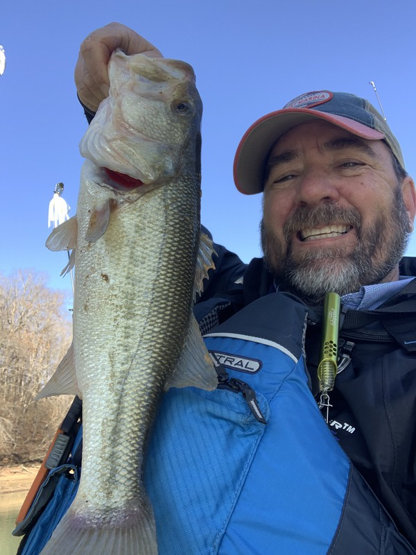 A photo of Richard DeVries's catch