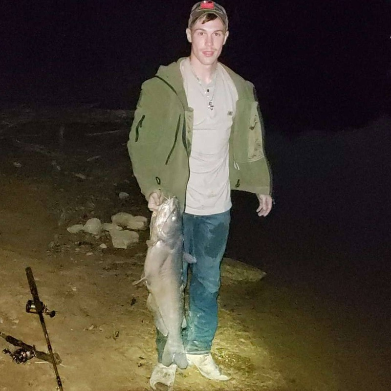 A photo of Sebastzian Baker's catch