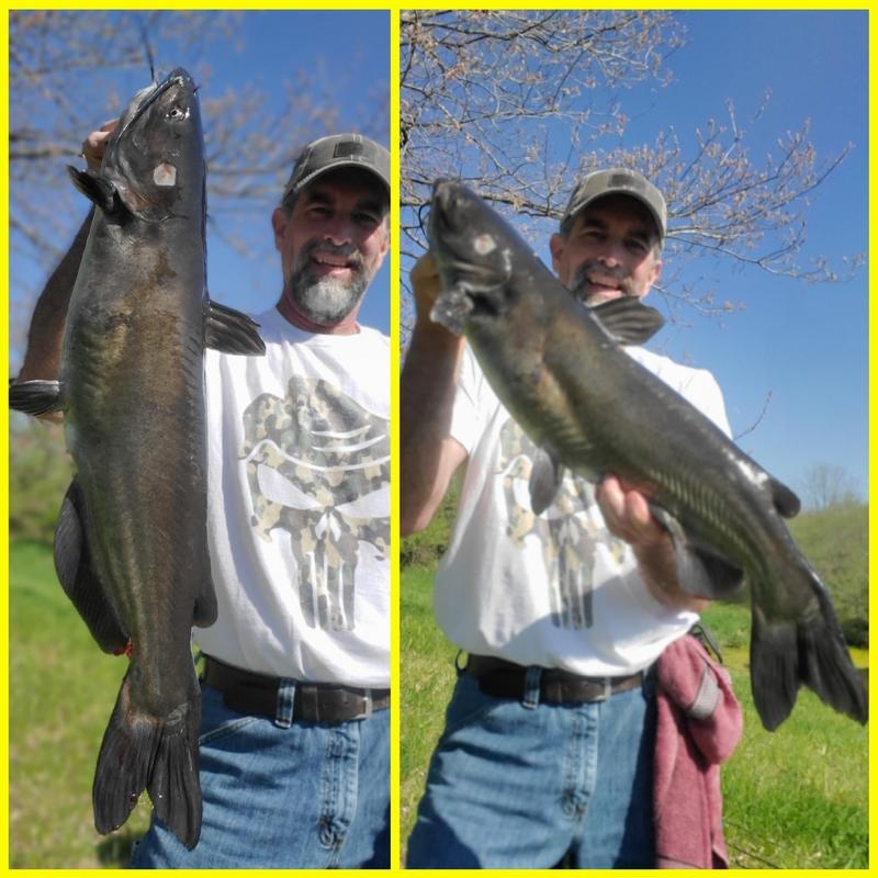 A photo of Robert Coleman's catch