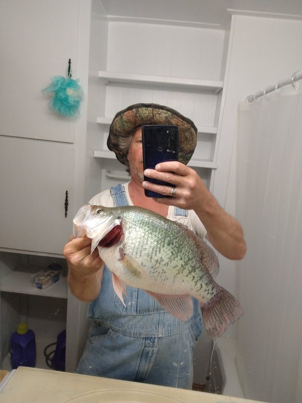 A photo of Randy Hopper's catch
