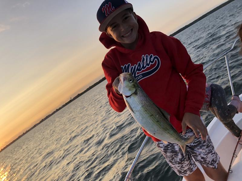 A photo of Calvin Casavant 's catch