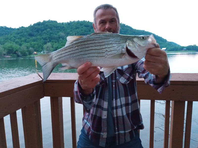 A photo of Richard Doney's catch