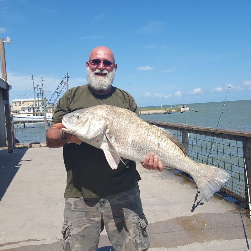A photo of Barry Thornton 's catch