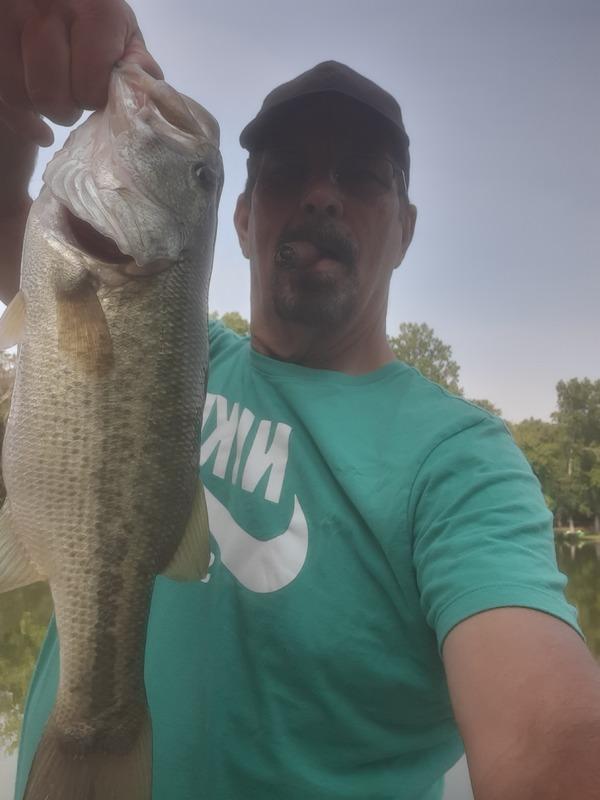 A photo of David West's catch