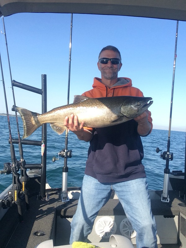 A photo of Buddy Pierce's catch