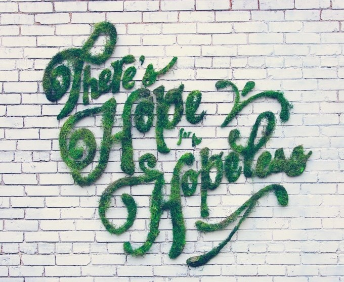 BRILLIANT! How to Make Moss Graffiti