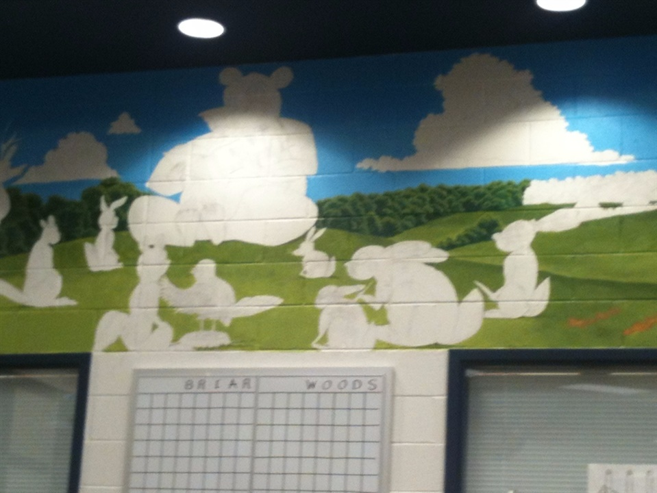 Mural in the Library