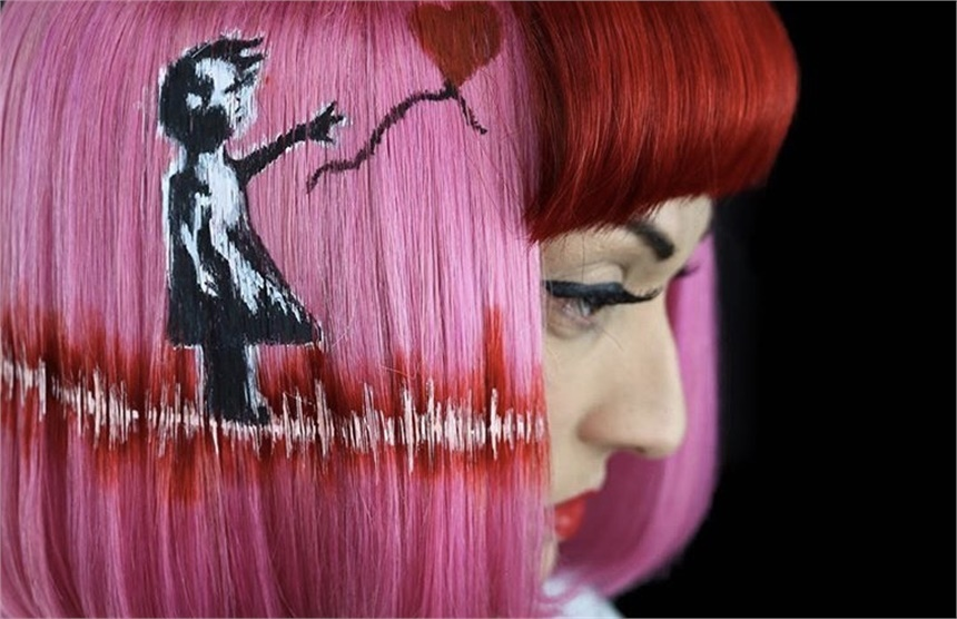 Meet Shannon Romano: The Artist Behind the Hair Paintings