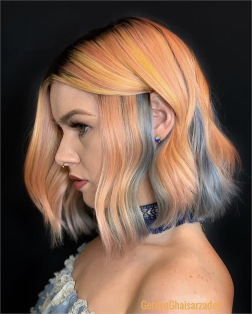 Colormelt and Color Boost Magic Using Goldwell Pure Pigments