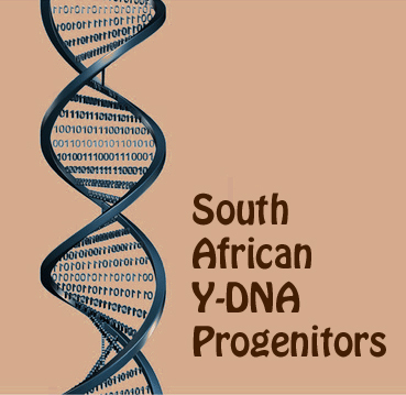 South African Y-DNA - Male Progenitors