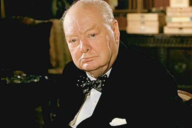 Image result for winston churchill 1965