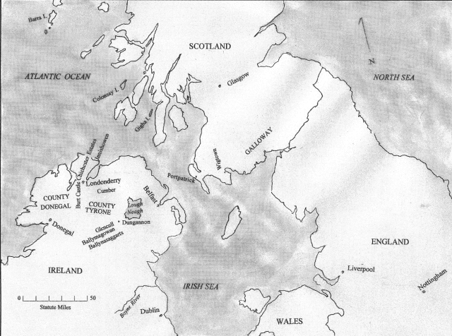 Neely Family - 1590 to 1728 - From Scotland to Ulster