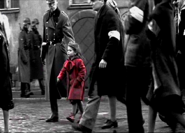 Schindlers List The Little Girl With The Red Coat The True Story
