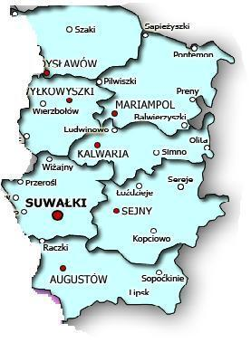 Suwalki Gubernia Families - Marriages and Immigration