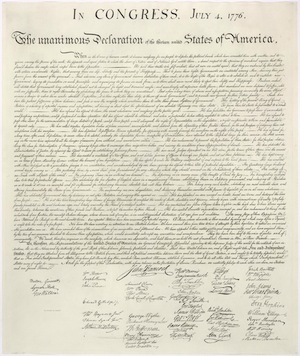 photo regarding Printable Declaration of Independence Text named Signers of the \