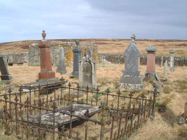 Caithness - Monumental Inscriptions, Cemeteries and Graveyards