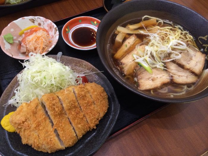 Tonkatsu, deep-fried pork cutlet
