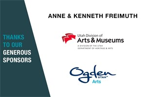 Kenneth and Anne Freimuth, Ogden City Arts, UDAM