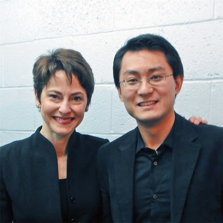 Laura Jackson and Composer Zhou Tian