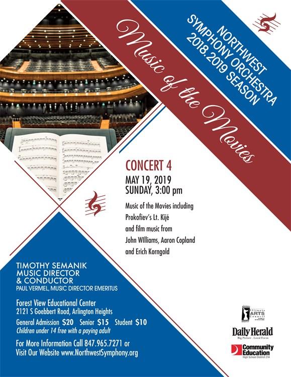 Upcoming May NSO Concert