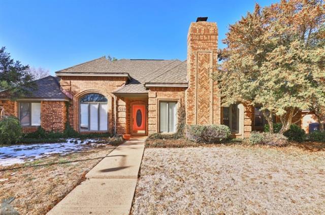 5510 Piping Rock Drive, Abilene, TX 79606