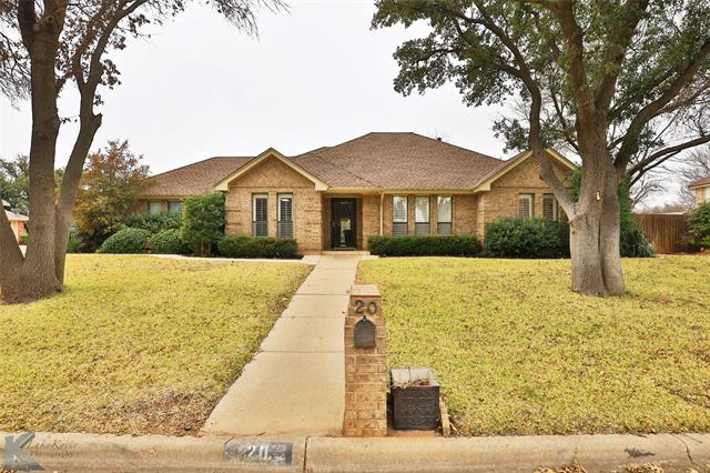 20 Hoylake Drive, Abilene, TX 79606
