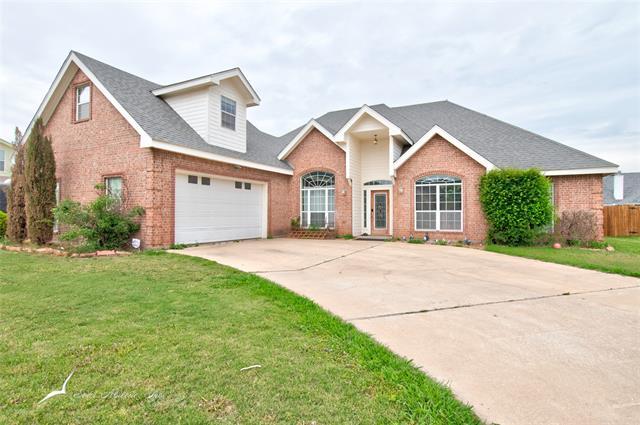 3326 White Oaks Drive, Abilene, TX 79606