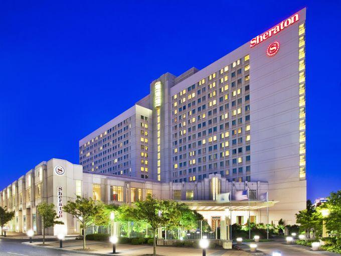 Sheraton, Atlantic City, Hotel, Convention Center, Downtown, Exterior