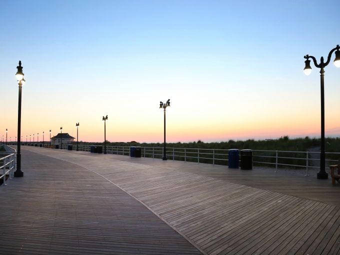 Atlantic City, Atlantic City beach, Atlantic Ocean, Boardwalk, Rolling Chairs, sunrise, skyline, crowd, famous, historic