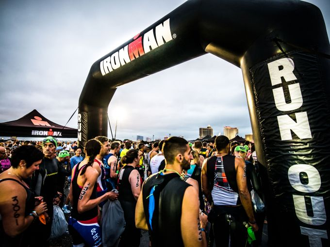 Ironman, athlete, participate, swim, bike, run, race, Atlantic Ocean, skyline, bikes, water, agility, sweat, Atlantic City