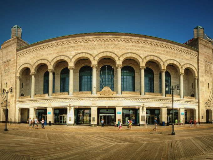 Atlantic City, Boardwalk, Boardwalk Hall, historic, landmark, pipe organ, tours, entertainment, boxing, Miss America, sporting events, hall, conventions
