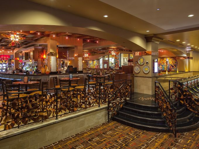 Golden Nugget, Casino, Interior, Marina District, Atlantic City, Restaurant, Food, Italian, Grotto