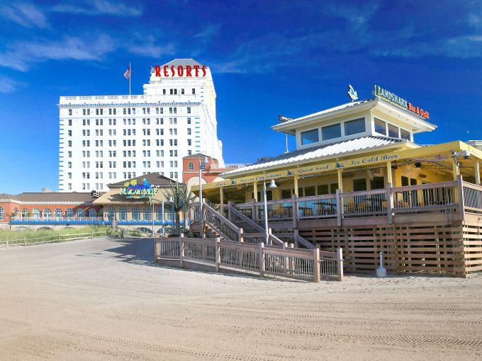 Resorts, Casino, Exterior, LandShark, Margaritaville, Facade, Beach, Restaurant, Bar, Entertainment