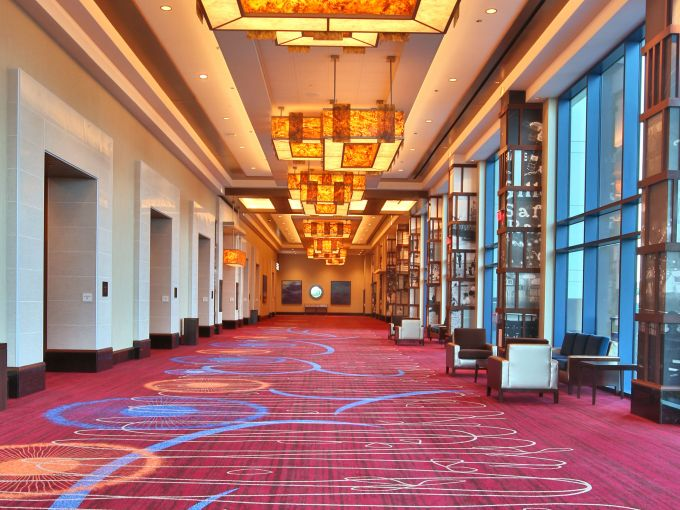 Harrah's, Casino, Interior, Pre-function, Design, Conference Center, Waterfront, Marina District, Meetings, Conferences, Events, Tradeshows, Technology