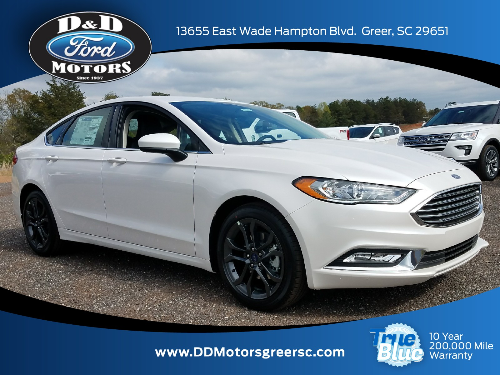 New 2018 Ford Fusion For Sale