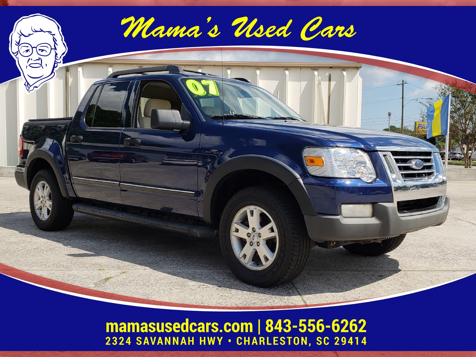 Used 2007 Ford Explorer Sport Trac For Sale Charleston Sc Suspension Please Click Here If You Are Not Redirected Within A Few Seconds