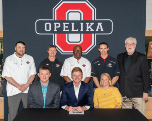 Congratulations to OHS Senior Andrew Parr & OHS Senior Tykell Jones for signing Scholarships with Andrew College this week