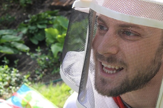 Dr. Noah Wilson-Rich of Boston's Best Bees