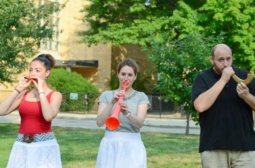 Kazoo, vuvuzela or shofar?