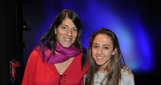 'Somewhere Between' Film Director Linda Goldstein Knowlon with Jenna Lifshatz