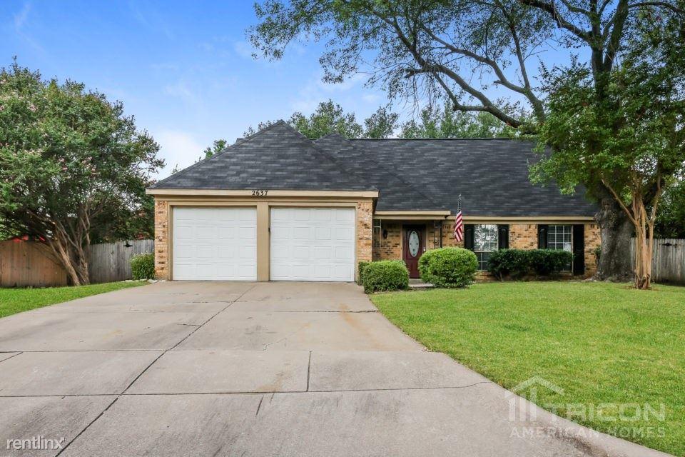 2637 Bennington Court, Grand Prairie, TX - $1,749
