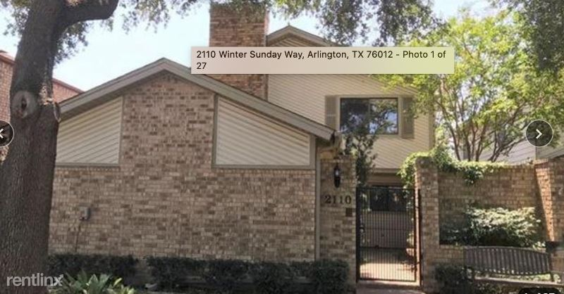 2110 Winter Sunday Way, Arlington, TX - $1,850