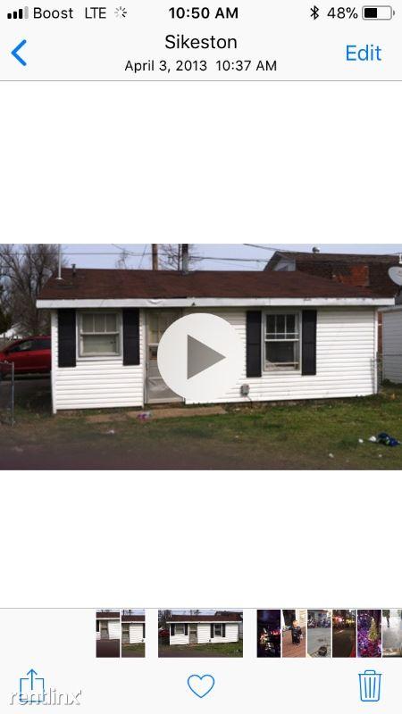 426 rear east gladys, Sikeston, MO - $475